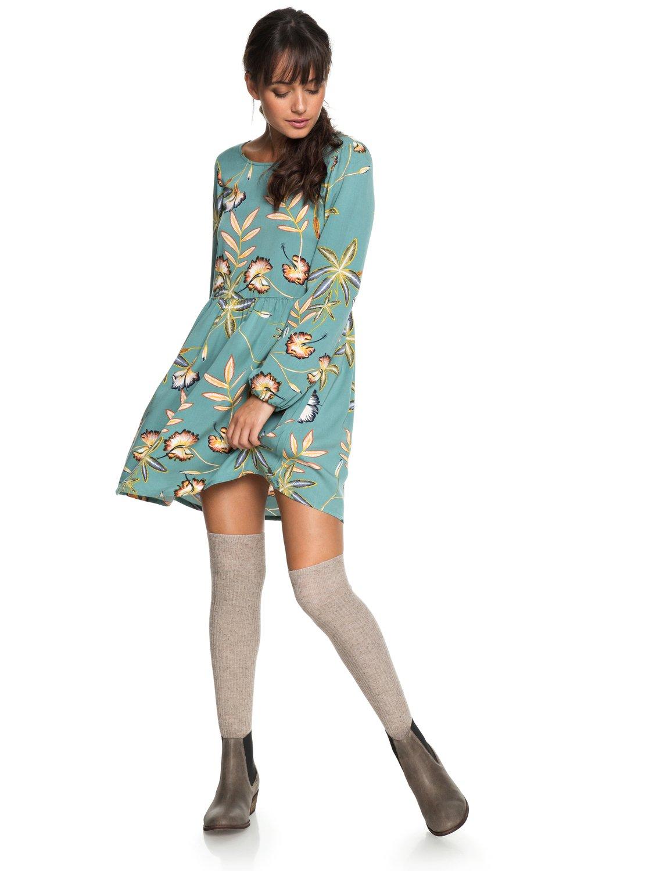 62531ca8e2c 0 Highland Escape - Robe à manches longues pour Femme ERJWD03238 Roxy