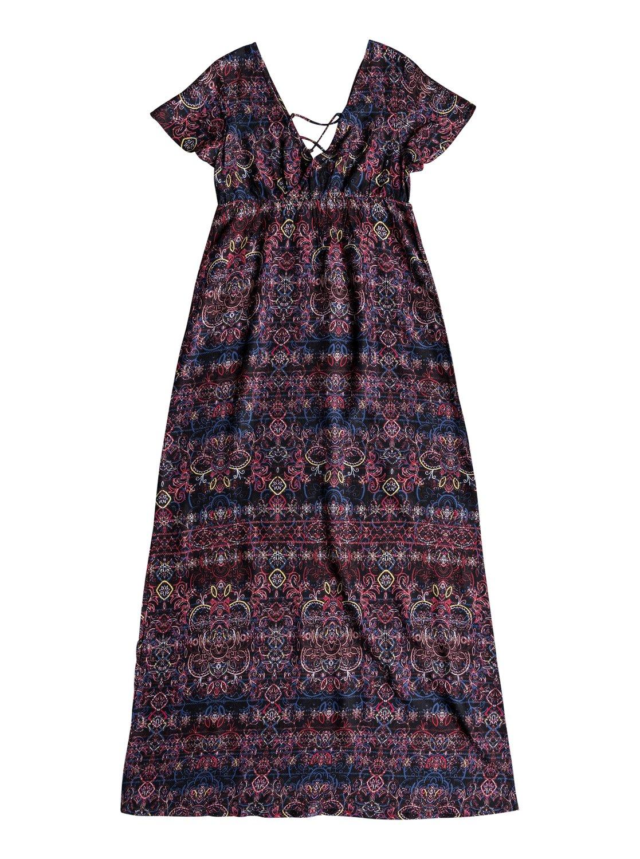 Sleeve Dress Maxi Short Lotus Heart TukiXOPZ