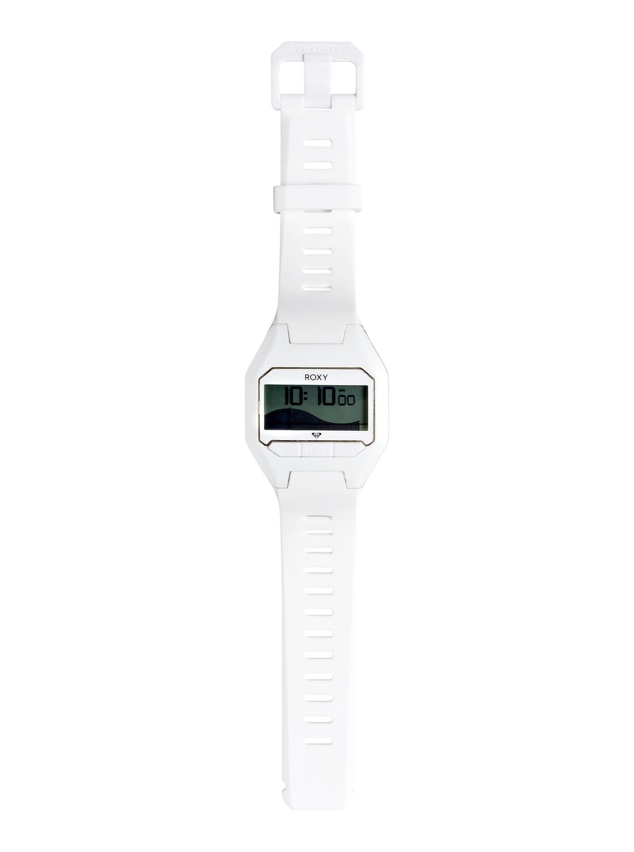 3cfe8b379624 2 Slimtide - Reloj Digital para Mujer Blanco ERJWD03290 Roxy