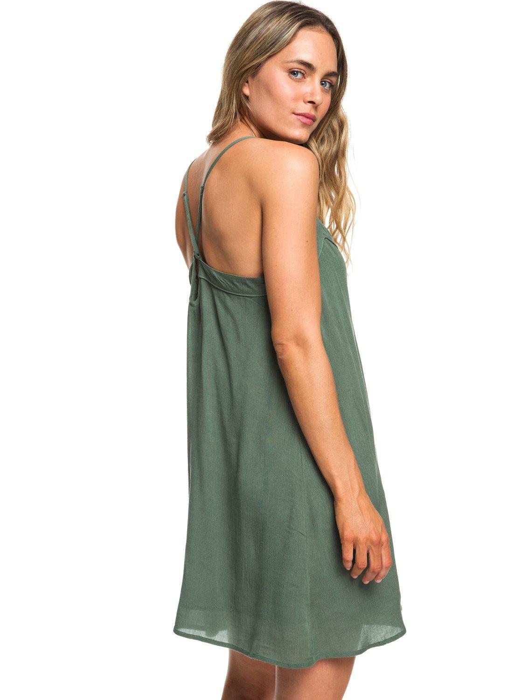 3aa0a78fe4 4 Off We Go - Strappy Dress for Women Green ERJWD03294 Roxy