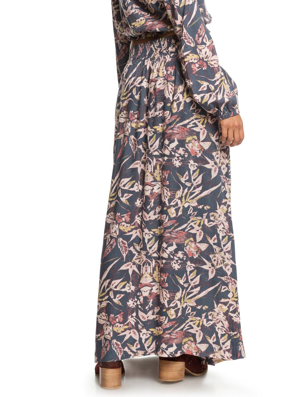 1e1a15646313 3 Last Forever Maxi Skirt Black ERJWK03043 Roxy