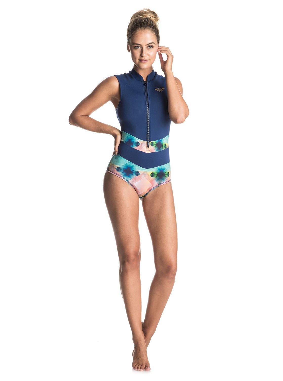 a5021ba030 2 Pop Surf - Sleeveless One-Piece Swimsuit ERJWR03118 Roxy