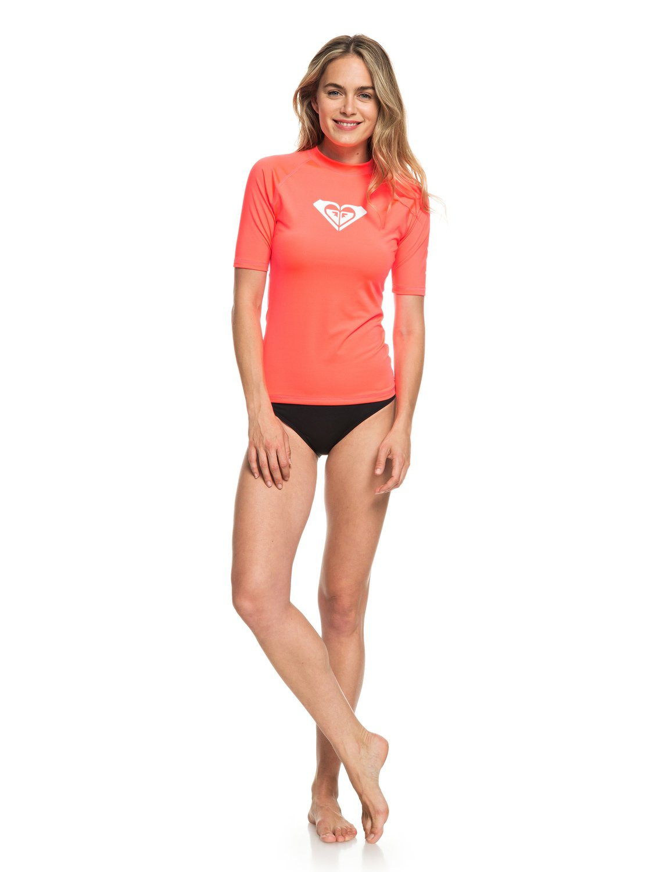 Roxy-Whole-Hearted-Licra-de-surf-de-maga-corta-UPF-50-para-Mujer-ERJWR03219 miniatura 19