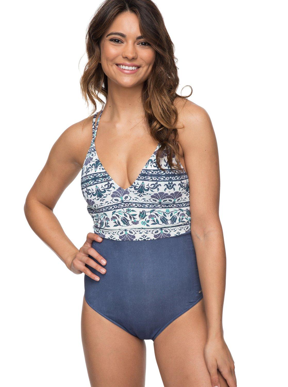 a68858db5f 0 Softly Love One-Piece Swimsuit ERJX103096 Roxy