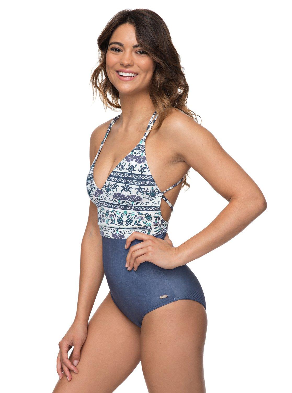 04ea8600d96 1 Softly Love One-Piece Swimsuit ERJX103096 Roxy
