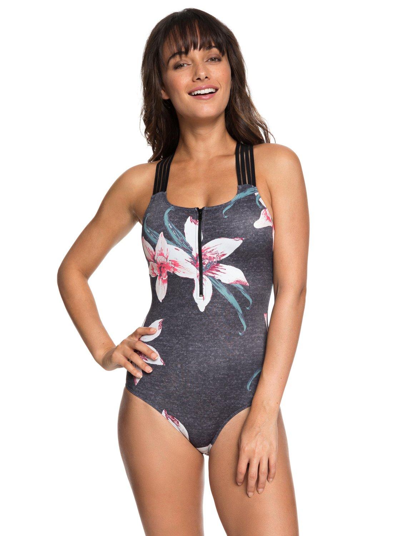 b25b51c3ba 0 ROXY Fitness Sporty One-Piece Swimsuit ERJX103144 Roxy