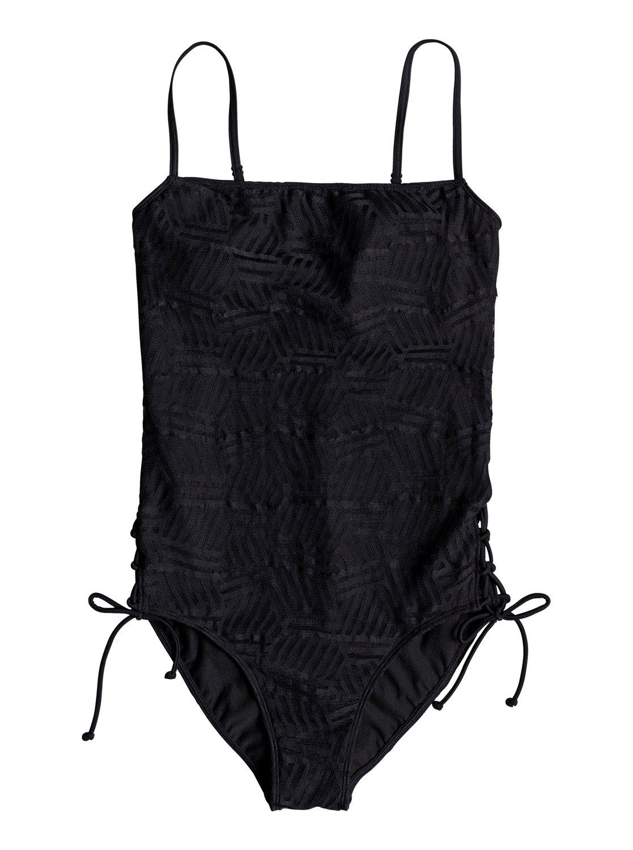 9e1bfb1c07ce5 0 Island Of Gods One-Piece Swimsuit Black ERJX103154 Roxy