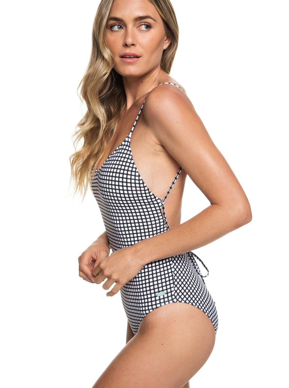 11b8ba8c681ab Roxy™ Beach Classics One-Piece Swimsuit for Women ERJX103165 | eBay