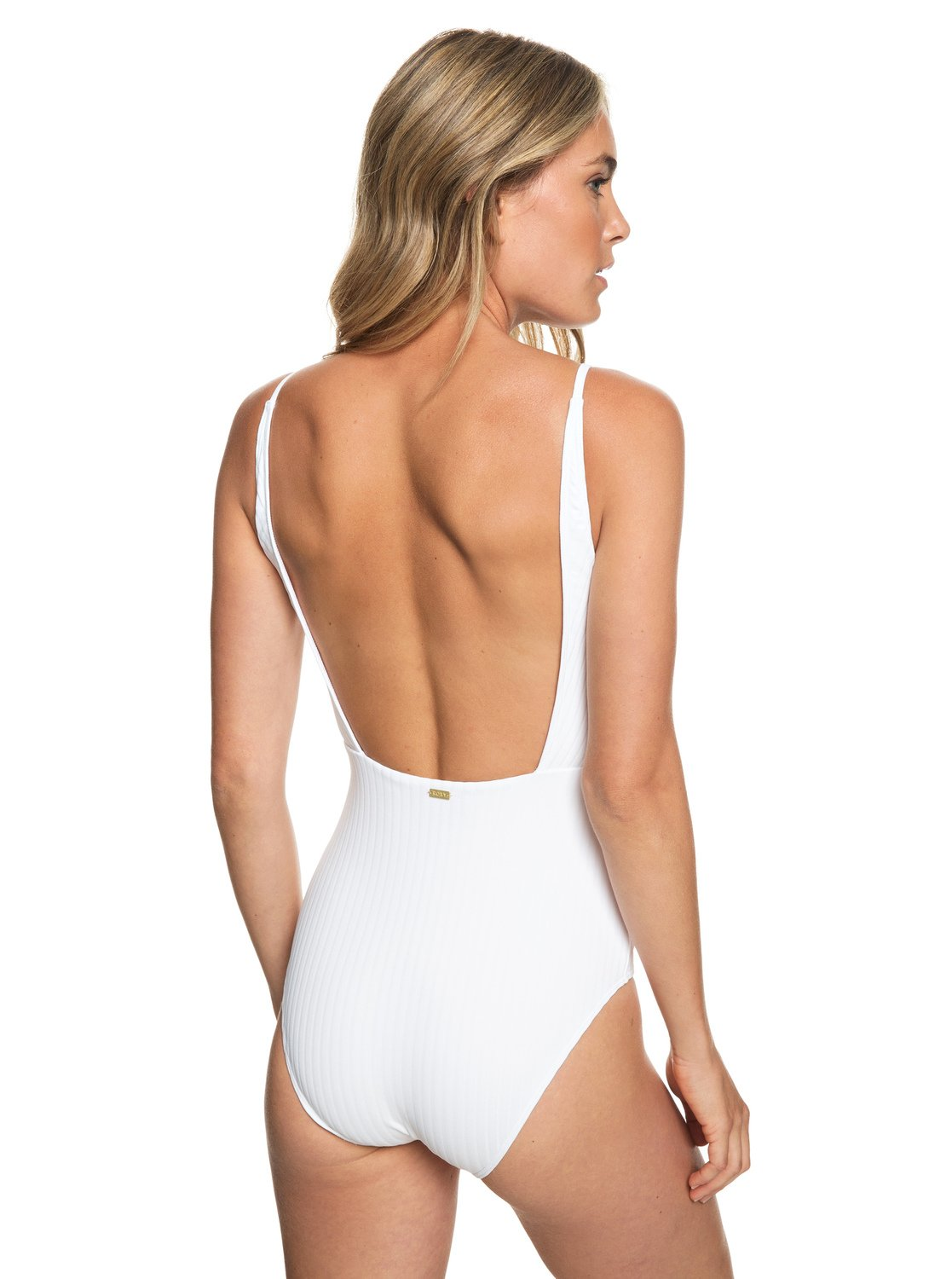 f2afead69a1 3 Color My Life One-Piece Swimsuit White ERJX103171 Roxy