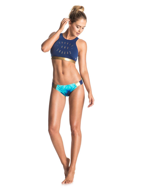 e56697e85461 Parte Superior de Bikini Corta de Neopreno Ligero Pop Surf ...