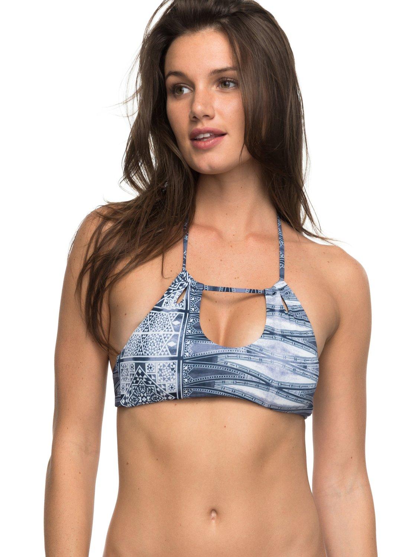 be66e010f98 0 Strappy Love Crop Bikini Top ERJX303521 Roxy