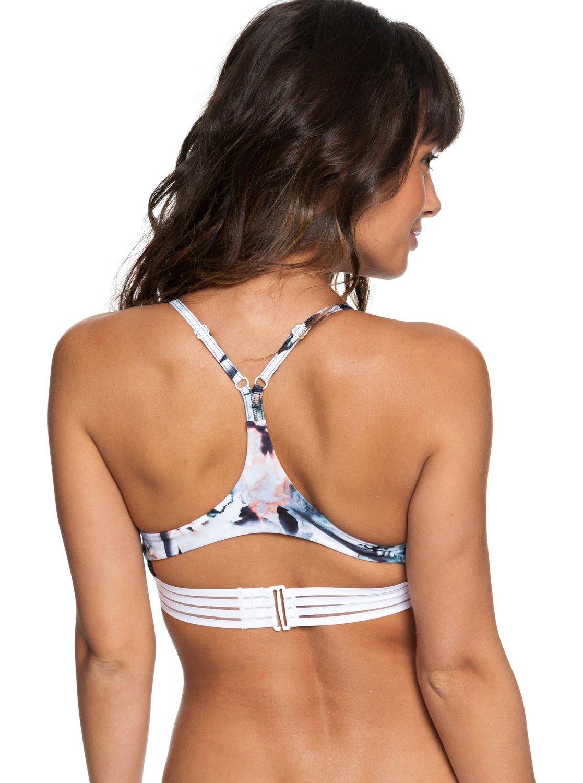 d91422d1e4d5 ROXY Fitness - Parte de arriba de bikini triangular deportivo para ...