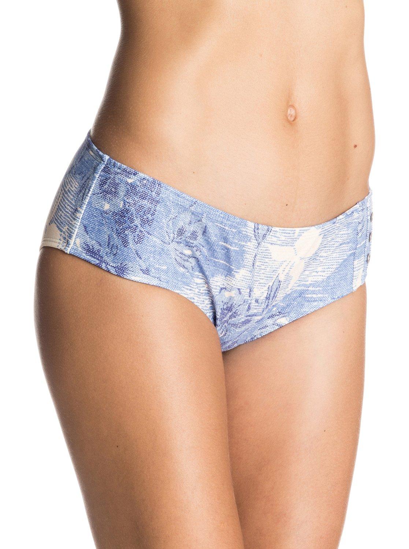 644503c261 Hawaiian Denim Shorty Bikini Bottoms ERJX403054 | Roxy