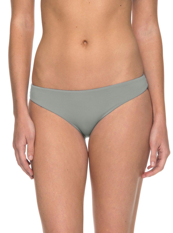 b1cfa883b63 0 Softly Love Scooter Bikini Bottoms Grey ERJX403540 Roxy