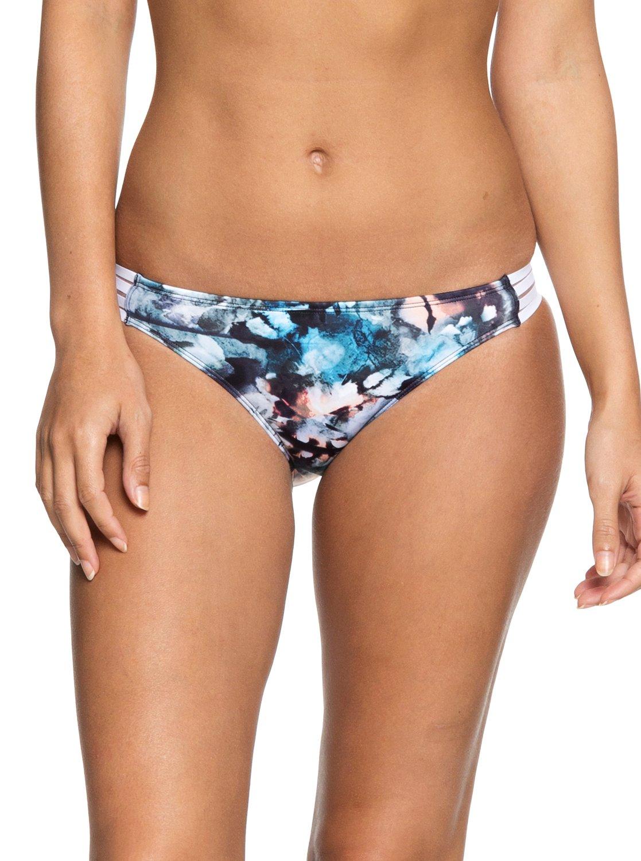 98047b0bae 0 ROXY Fitness - Bas de bikini couvrance naturelle pour Femme Bleu  ERJX403632 Roxy