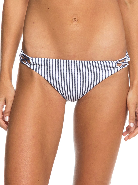 6cf17ffc449 0 Softly Love Reversible Moderate Bikini Bottoms Blue ERJX403655 Roxy