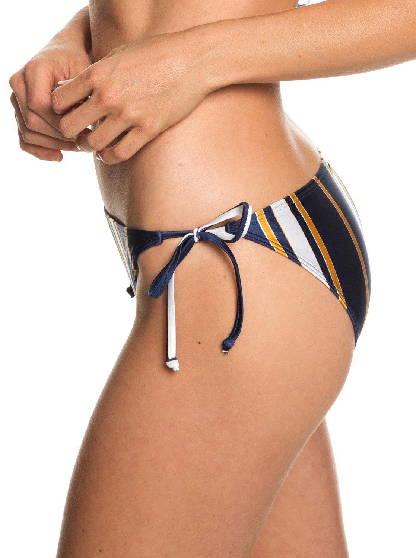 9f3093d81af 1 Romantic Senses - Tie-Side Bikini Bottoms for Women Blue ERJX403701 Roxy