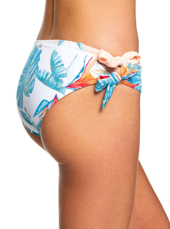 239adaf516 1 Summer Delight Full Bikini Bottoms White ERJX403749 Roxy