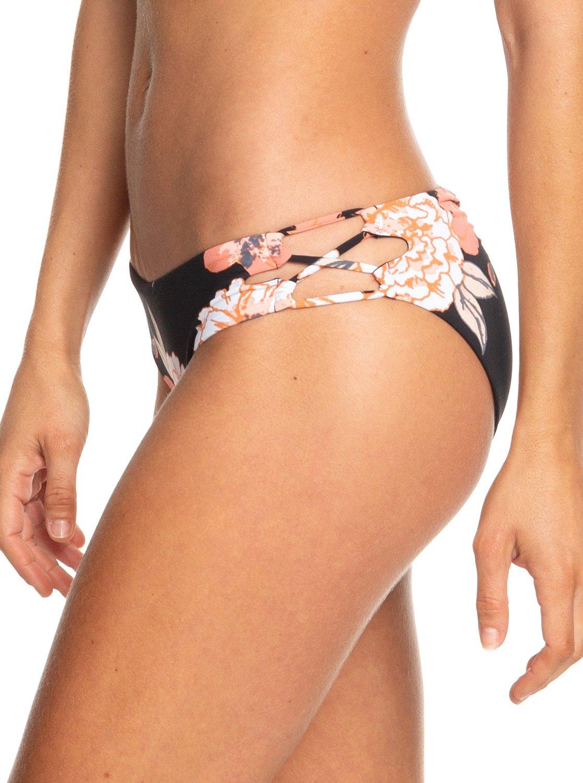 ede270925aaf3 1 Beach Classics Full Bikini Bottoms Black ERJX403754 Roxy