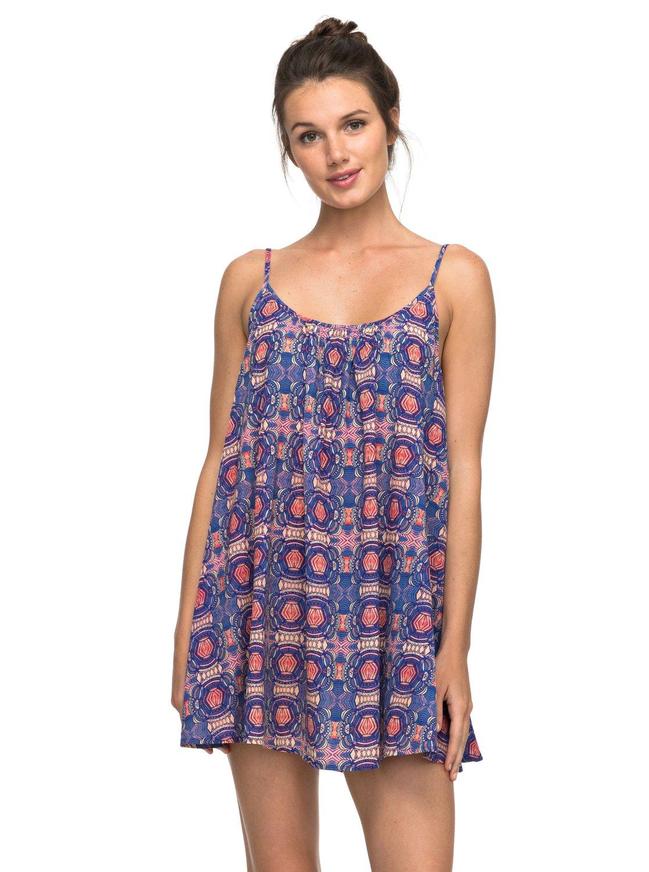 9631b791738 0 Пляжное платье Windy Fly Away Фиолетовый ERJX603068 Roxy