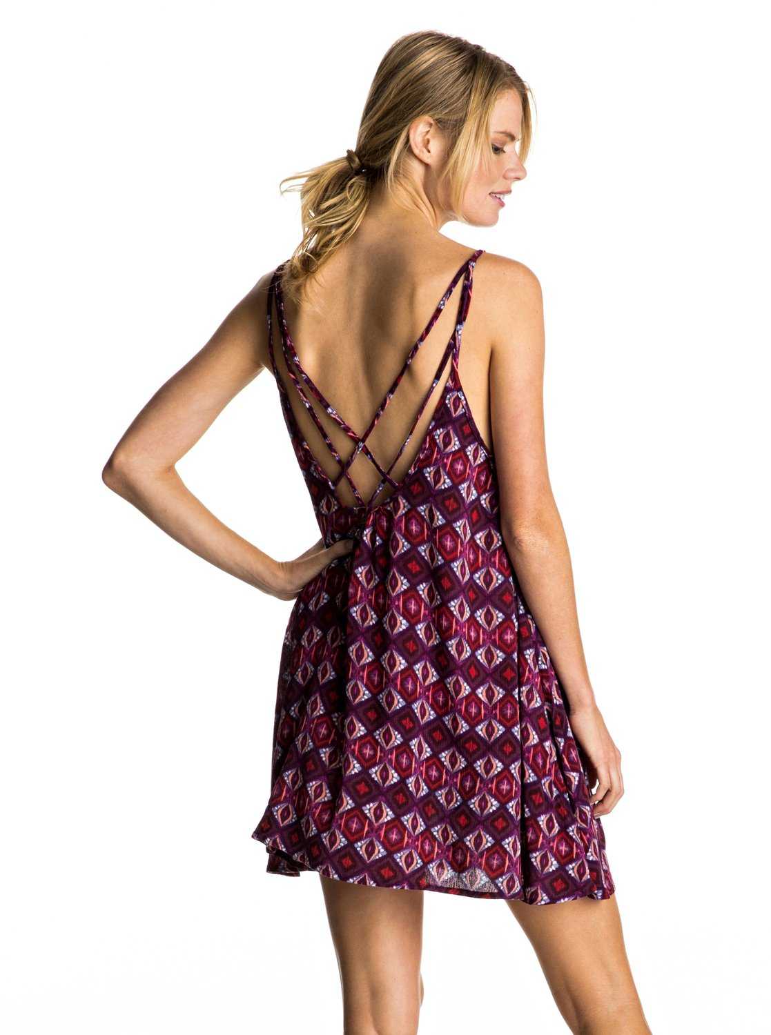 3151fc8f09 1 Windy Fly Away Print - Cover-Up Dress ERJX603074 Roxy
