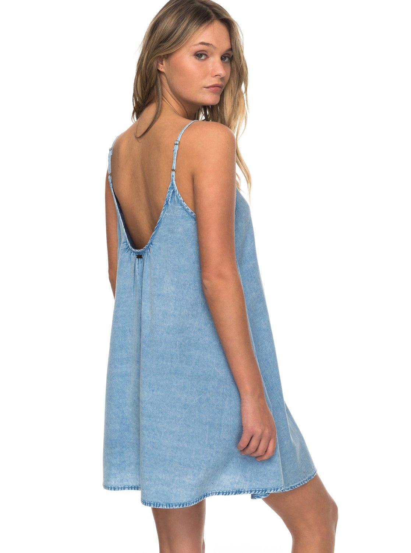 789198c172 3 Softly Love Strappy Dress Blue ERJX603101 Roxy