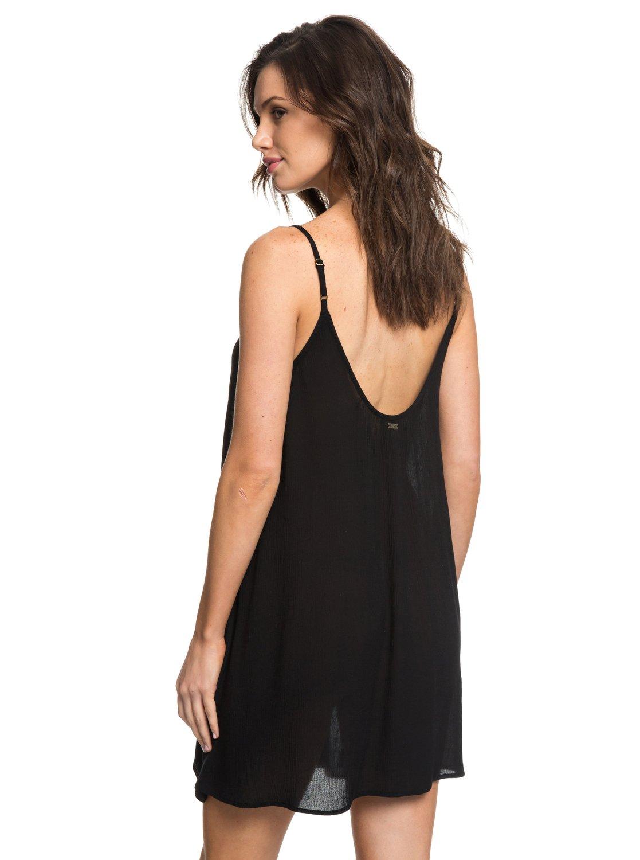 6eaba5e49f 3 Softly Love Strappy Dress Black ERJX603122 Roxy