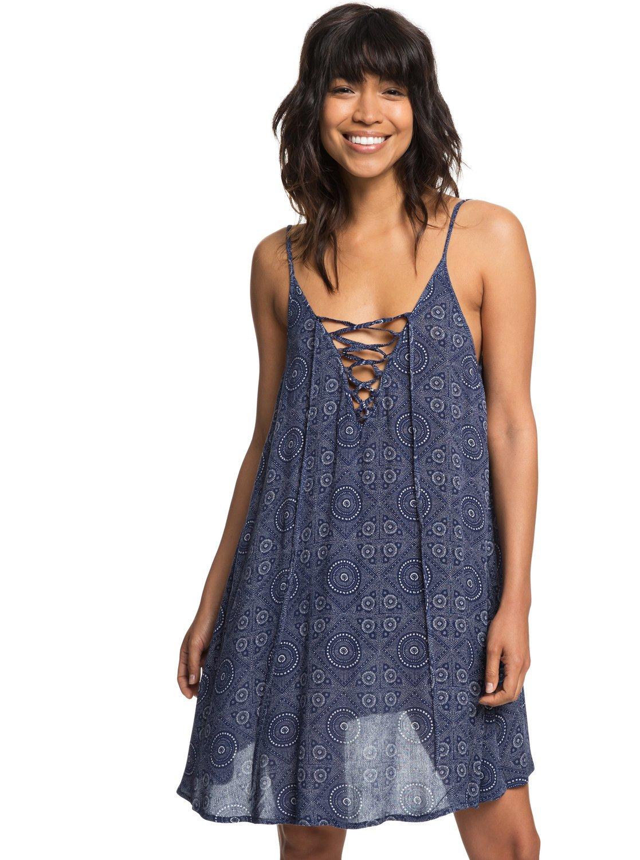 7aabebd68a 1 Softly Love - Strappy Beach Dress for Women Blue ERJX603138 Roxy