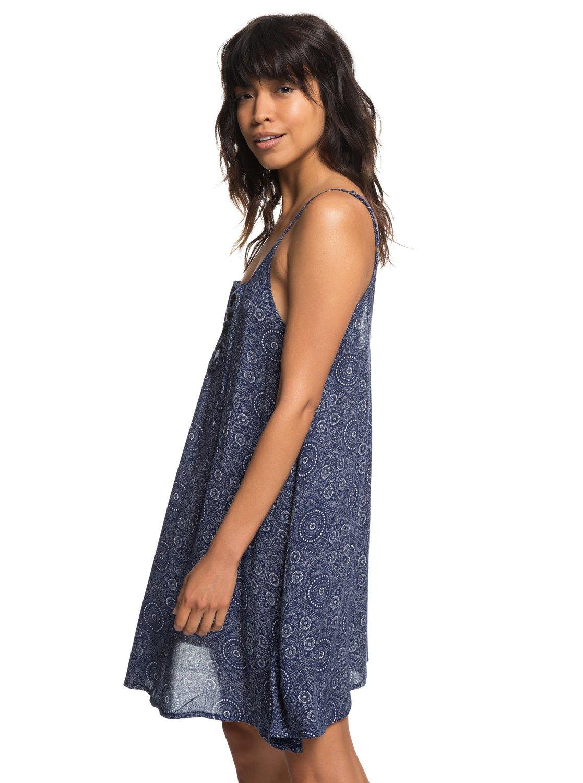 91ac3dfdaf409 2 Softly Love - Vestido de Playa con Tirantes para Mujer Azul ERJX603138  Roxy