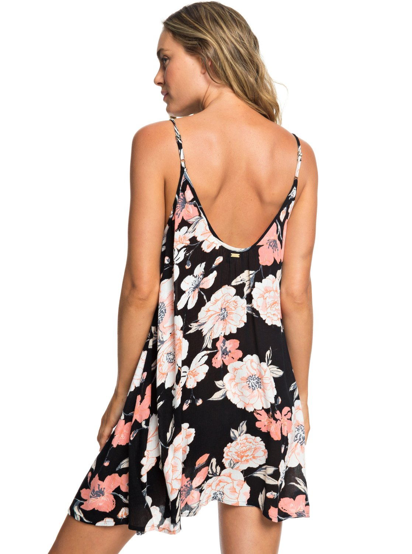 e03879dba4 4 Softly Love Strappy Beach Dress Black ERJX603138 Roxy