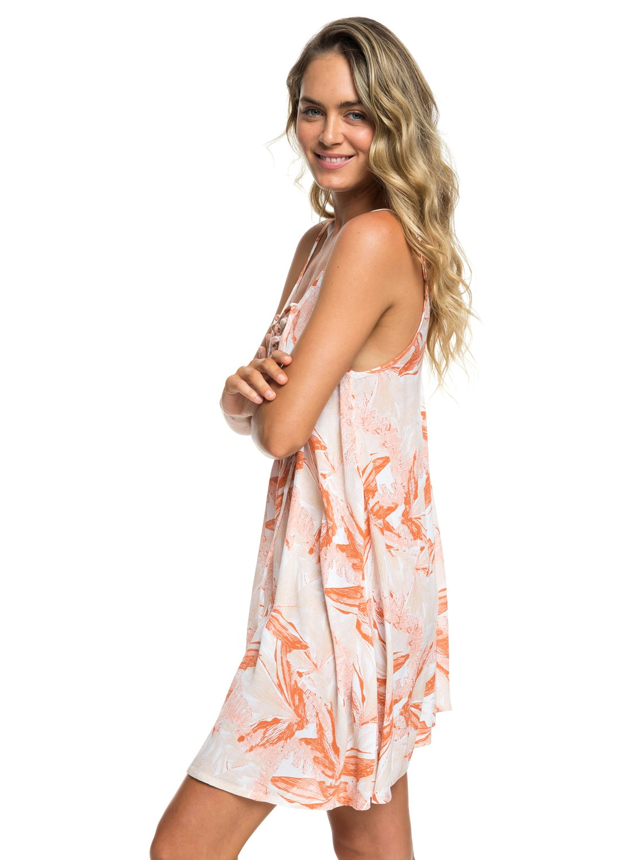 3f9baf49488 1 Softly Love Strappy Beach Dress White ERJX603138 Roxy