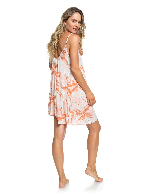 6c3b15d14e0 3 Softly Love Strappy Beach Dress White ERJX603138 Roxy
