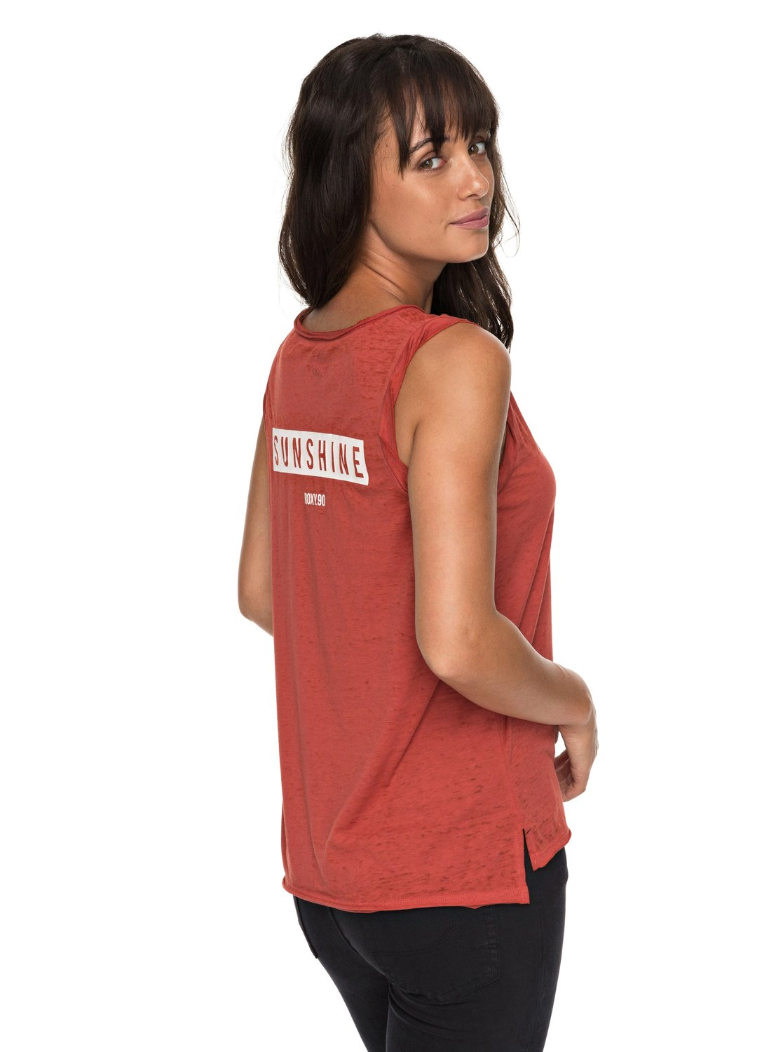 b4260be2a44 2 Time For Another Day B - Sleeveless T-Shirt for Women ERJZT04157 Roxy
