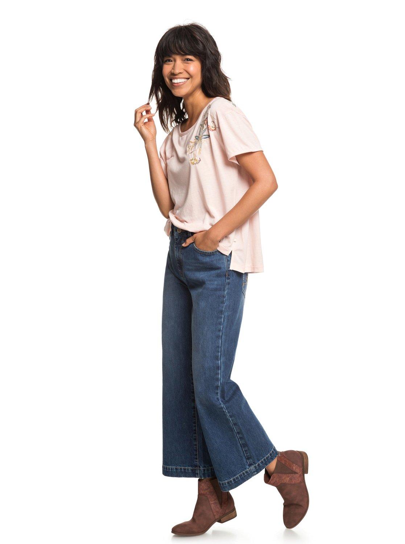 Roxy-Cruz-Life-B-Camiseta-para-Mujer-ERJZT04382 miniatura 12