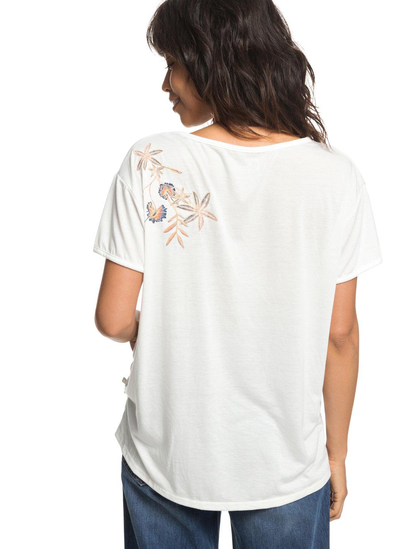 Roxy-Cruz-Life-B-Camiseta-para-Mujer-ERJZT04382 miniatura 8