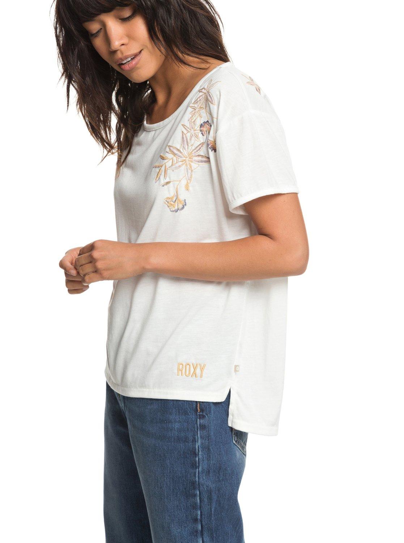 Roxy-Cruz-Life-B-Camiseta-para-Mujer-ERJZT04382 miniatura 6