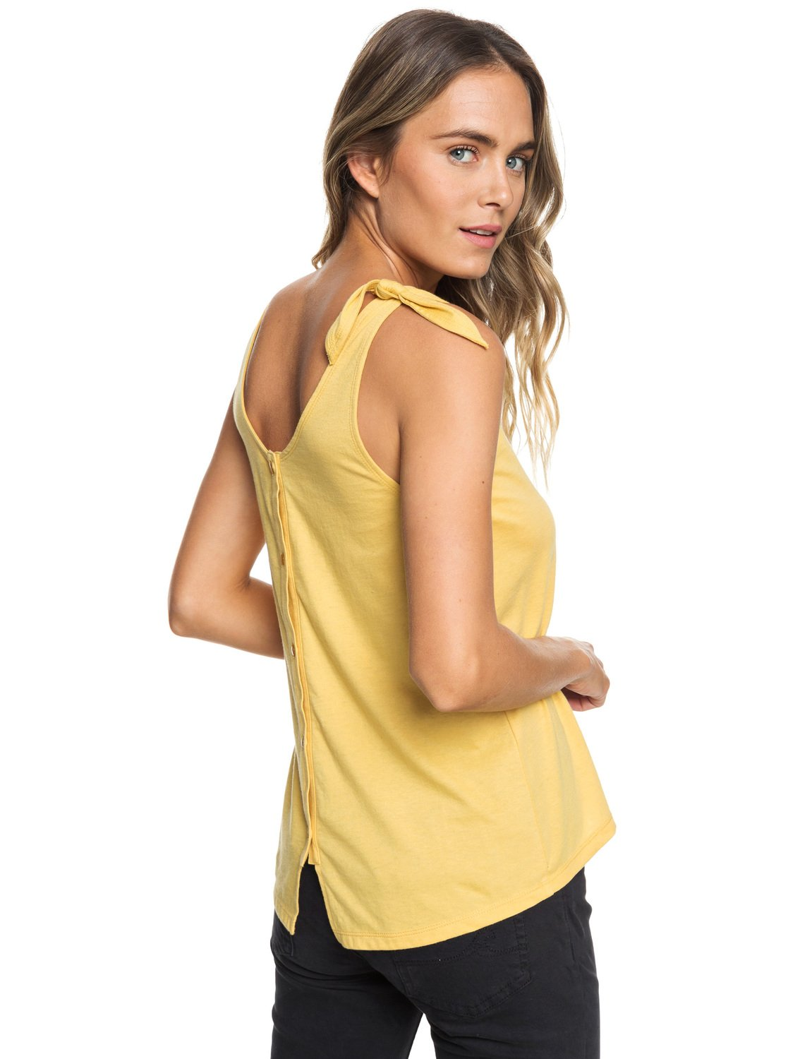 129f576ce587 0 Dreaming About A Cruise C Tank Top Yellow ERJZT04457 Roxy
