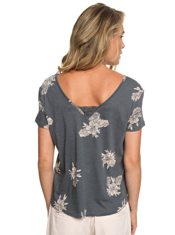 ecf592a1a7bb 2 Beach Summer Party - Short Sleeve Top for Women Black ERJZT04507 Roxy