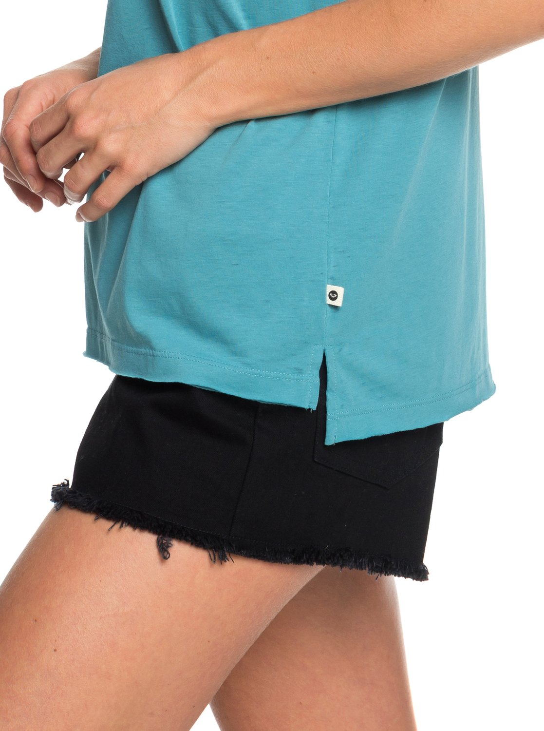 473c1522e0f 1 Time For Another Day B Sleeveless Tee Blue ERJZT04598 Roxy