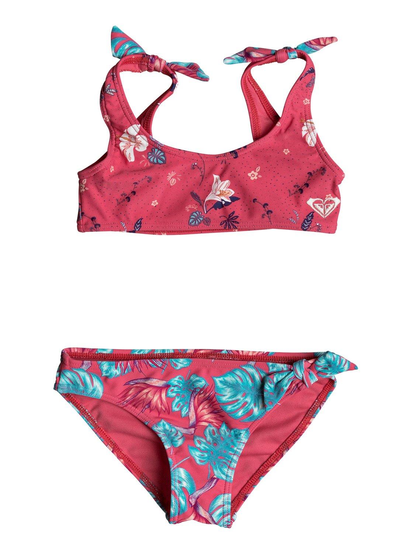 377f65af67dfb 0 Girl's 7-14 ROXY Mermaid Athletic Bikini Set Pink ERLX203044 Roxy