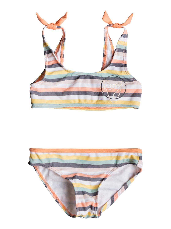 0eeae3d4e159 0 Girl Lets Go Surfing - Sports Bra Bikini Set for Girls 2-7 Pink