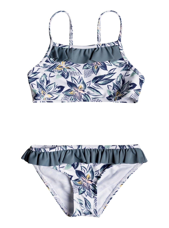f11363d88728 0 Magic Seeker - Athletic Bikini Set for Girls 2-7 White ERLX203072 Roxy