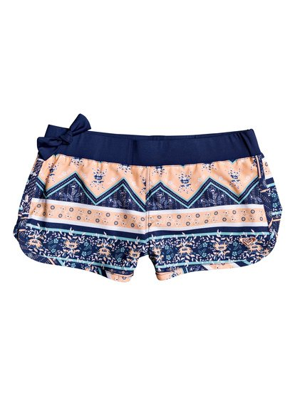 """Heart In The Waves 5"""" - Board Shorts for Girls 8-16  ERGBS03061"""