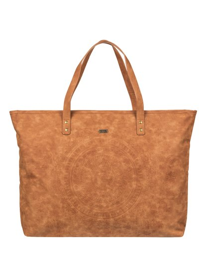 Set It On Fire - Faux Leather Tote Bag  ERJBP03872