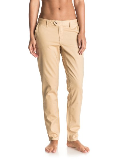 Sunrise Sand - Straight Tapered Chinos  ERJDP03147