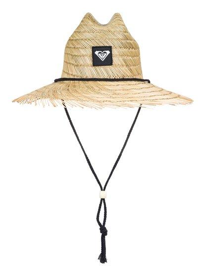 1a221f872522c Tomboy Raw Edge Straw Lifeguard Hat ERJHA03493