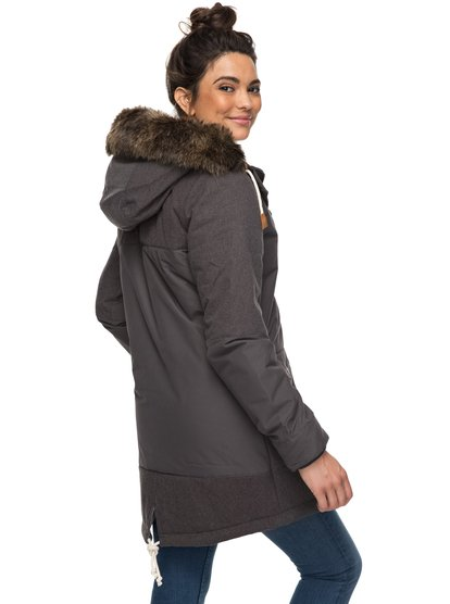 Tara - Waterproof Longline Parka for Women  ERJJK03185