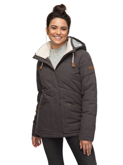 Nancy - Waterproof Hooded Insulator Jacket for Women  ERJJK03187