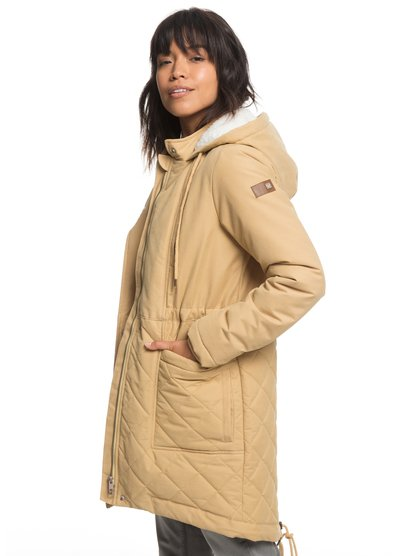 Slalom Chic - Waterproof Hooded Padded Jacket for Women  ERJJK03231