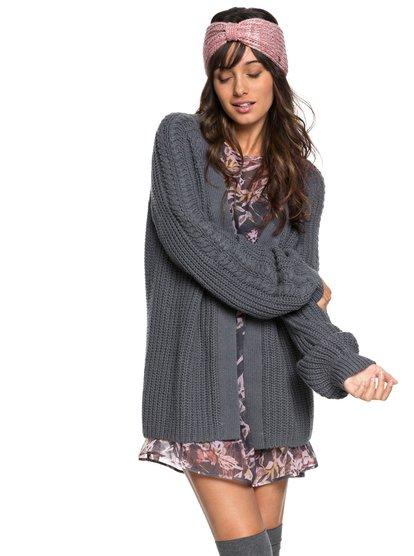 Long Away - Longline Knitted Cardigan for Women  ERJSW03289